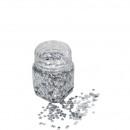 Star tinsel, 80g, silver